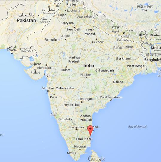 Auroville localisation