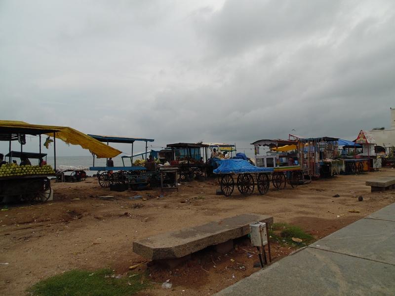 Pondicherry sea's bay