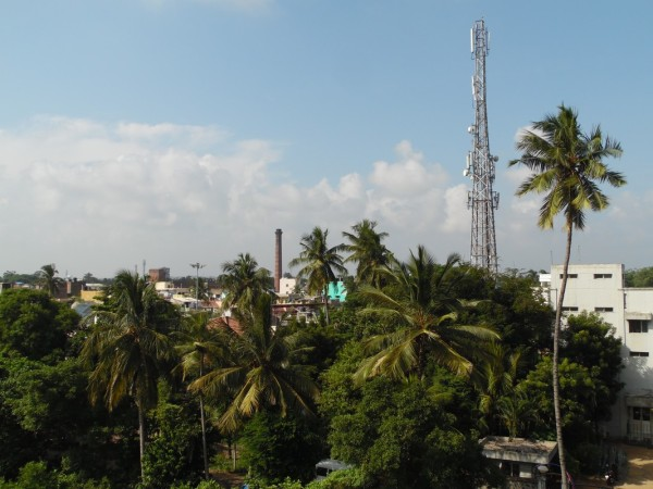 Rooftop view of Pondicherry n°3