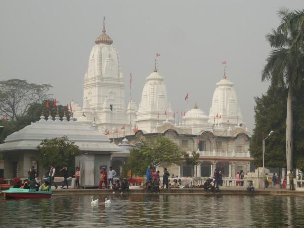 Gorakhnath Temple and its pond