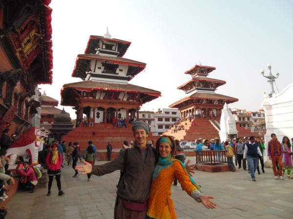 Antoine and Claudine - Durbar Square