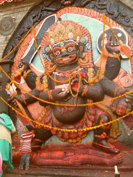 Shiva Representation - Durbar Square
