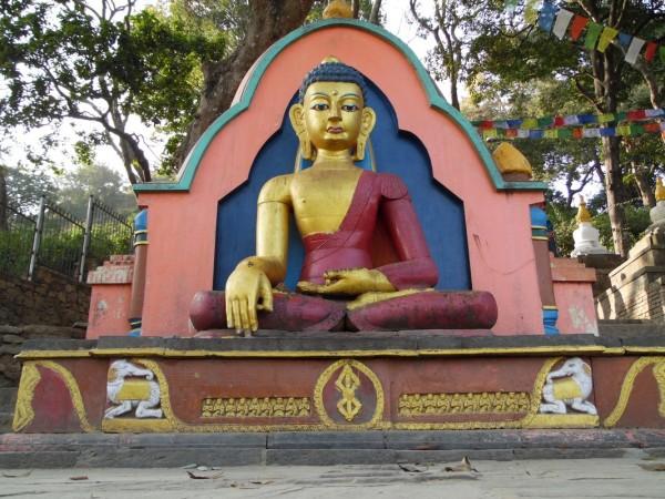 Lord Buddha - Swayambunath